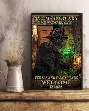 Salem sanctuary for wayward cats Halloween 11x17 Poster lifestyle-poster-3