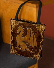 Dragon Faux Leather All-over Tote aos-all-over-tote-lifestyle-front-02