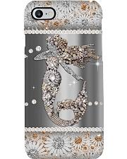 Mermaid pattern print Phone Case i-phone-8-case