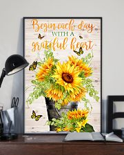 Begin each day with a grateful heart 11x17 Poster lifestyle-poster-2