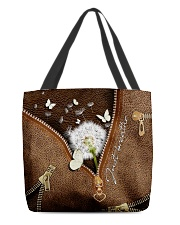Just Breathe All-over Tote back