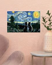 Starry night 17x11 Poster poster-landscape-17x11-lifestyle-22