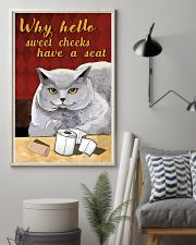 Why hello sweet cheek 11x17 Poster lifestyle-poster-1