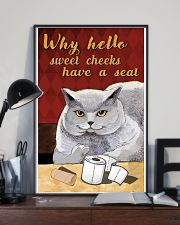 Why hello sweet cheek 11x17 Poster lifestyle-poster-2