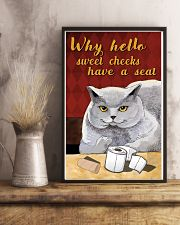 Why hello sweet cheek 11x17 Poster lifestyle-poster-3