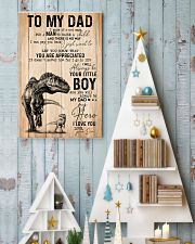 To my dad Father's day 11x17 Poster lifestyle-holiday-poster-2