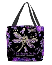 I will remember for you All-over Tote front