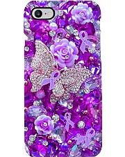 Pancreatic cancer warrior Phone Case i-phone-8-case