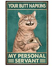 Your Butt Napkin My Personal Servant 11x17 Poster front