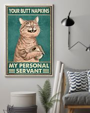 Your Butt Napkin My Personal Servant 11x17 Poster lifestyle-poster-1