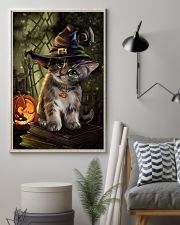 Cat Halloween 11x17 Poster lifestyle-poster-1