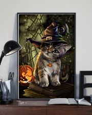 Cat Halloween 11x17 Poster lifestyle-poster-2