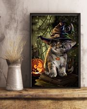 Cat Halloween 11x17 Poster lifestyle-poster-3