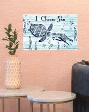 I choose you 17x11 Poster poster-landscape-17x11-lifestyle-21