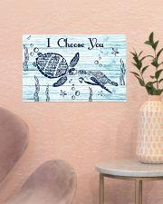 I choose you 17x11 Poster poster-landscape-17x11-lifestyle-22
