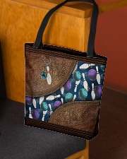 Bowling rug leather pattern print All-over Tote aos-all-over-tote-lifestyle-front-02