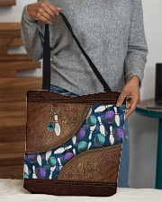 Bowling rug leather pattern print All-over Tote aos-all-over-tote-lifestyle-front-10