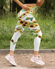 You Are My Sunshine High Waist Leggings aos-high-waist-leggings-lifestyle-15