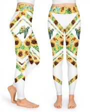 You Are My Sunshine High Waist Leggings front