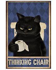 Thinking chair 11x17 Poster front