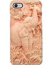 Elephant silicon mold pattern print Phone Case i-phone-8-case