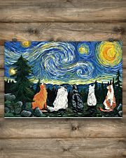 Starry night 17x11 Poster poster-landscape-17x11-lifestyle-14