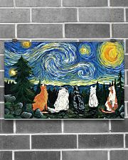 Starry night 17x11 Poster poster-landscape-17x11-lifestyle-18