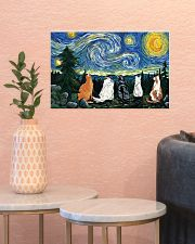 Starry night 17x11 Poster poster-landscape-17x11-lifestyle-21