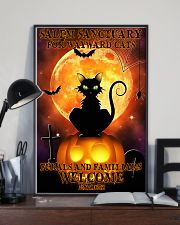 Salem sanctuary for wayward cats 11x17 Poster lifestyle-poster-2