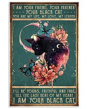 I am your friend black cat 11x17 Poster front
