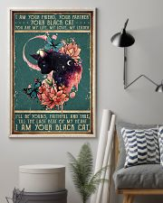 I am your friend black cat 11x17 Poster lifestyle-poster-1