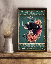 I am your friend black cat 11x17 Poster lifestyle-poster-3