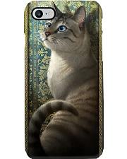 Cat art Phone Case i-phone-8-case