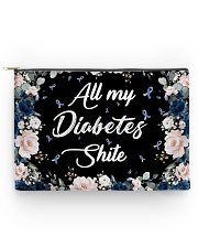 All my diabetes shite Accessory Pouch tile