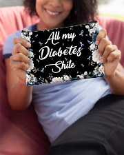 All my diabetes shite Accessory Pouch - Standard aos-accessory-pouch-8-5x6-lifestyle-front-06