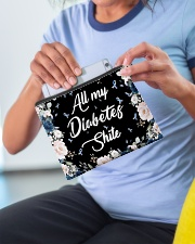 All my diabetes shite Accessory Pouch - Standard aos-accessory-pouch-8-5x6-lifestyle-front-07
