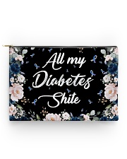 All my diabetes shite Accessory Pouch - Standard back