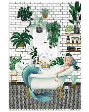 Mermaid Bathroom poster 11x17 Poster front
