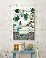 Mermaid Bathroom poster 11x17 Poster lifestyle-holiday-poster-3