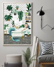 Mermaid Bathroom poster 11x17 Poster lifestyle-poster-1