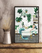 Mermaid Bathroom poster 11x17 Poster lifestyle-poster-3