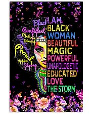 Educated Black Girl Magic 11x17 Poster front