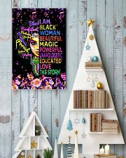 Educated Black Girl Magic 11x17 Poster lifestyle-holiday-poster-2