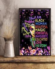 Educated Black Girl Magic 11x17 Poster lifestyle-poster-3