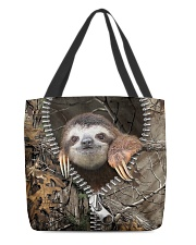 Sloth All-over Tote front