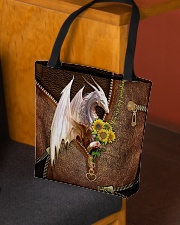 You Are My Sunshine Leather Pattern Print  All-over Tote aos-all-over-tote-lifestyle-front-02