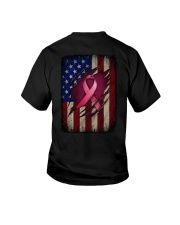 Ribbon flag Independence day Youth T-Shirt tile