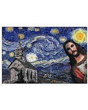 Jesus Christ Starry Night 17x11 Poster front