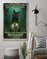 Salem sanctuary for wayward cats 11x17 Poster lifestyle-poster-1