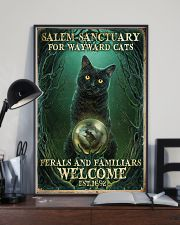 Salem sanctuary for wayward cats 11x17 Poster lifestyle-poster-2